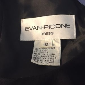 Evan Picone Dresses - {Evan Picone} Beautiful Black Dress Size 12
